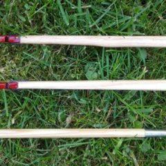 Elke nok is half zo breed als een normale nok.